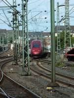 dusseldorf-hauptbahnhof/285795/nachschuss-auf-thalys-4305-am-3813 Nachschuss auf Thalys 4305 am 3.8.13 in Düsseldorf.