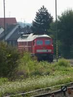 BR 232/284997/232-388-steht-am-3813-im 232 388 steht am 3.8.13 im Vorfeld des Bahnhofes Friedrichshafen Stadt.