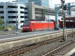 BR 146/285803/146-025-verlaesst-am-3813-den 146 025 verlässt am 3.8.13 den Düsseldorfer Hauptbahnhof. RE5 -> Emmerich